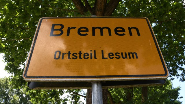 Ortsschild Bremen-Lesum
