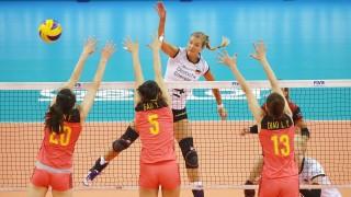 Stuttgart Volleyball Nations League Deutschland vs China Maren Fromm Deutschland *** Stutt