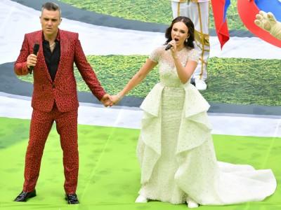 """WM-Eröffnungsfeier: Und Robbie Williams singt: """"Let me entertain you"""""""