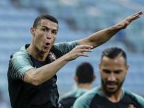WM 2018 - Training Portugal