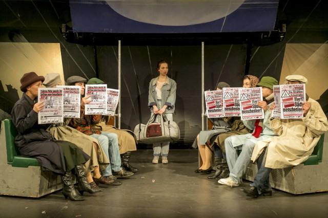 Grips Theater: Linie 1, Neunte Umbesetzungspremiere vom 5. Mai 2016.