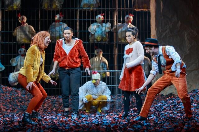 Theater der Jugend âÄ¢ Der fantastische Mr. Fox / von Roald Dahl - in einer Fassung von David Wood / Deutsch von Clemens Pötsch