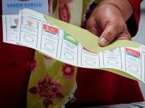 Wahlen in der Türkei - Stimmabgabe in Berlin