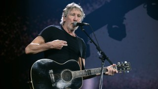 Roger Waters bei einem Konzert in Frankreich.