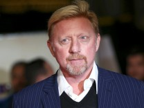 Ehemaliger Tennisprofi Boris Becker in London