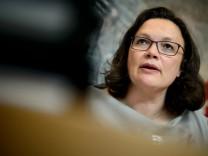 Fraktionssitzungen der Bundestagsparteien - SPD