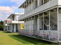 Rostiges Gymnasium in Dießen