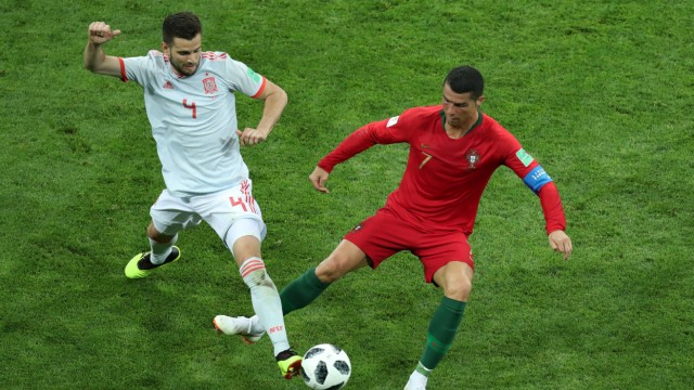 World Cup - Group B - Portugal vs Spain