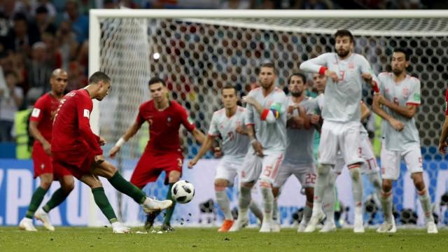Fußball-WM Pressestimmen zu Portugal vs Spanien