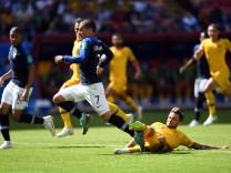 WM 2018 - Frankreich - Australien