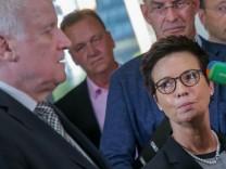 Horst Seehofer und Jutta Cordt