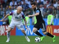 WM 2018 - Argentinien - Island
