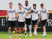 WM 2018 - Trainingslager Deutschland - Training