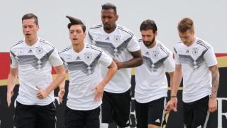 WM 2018 - Trainingslager Deutschland - Training