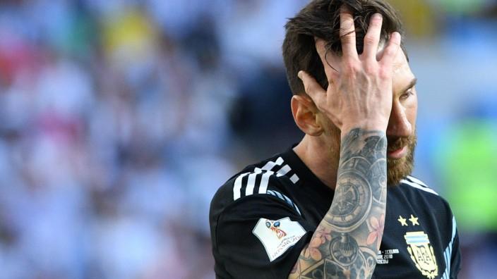 Messi Bei Der Wm Abgeprallt An Islands Eiswall Sport