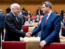 Söder fordert klare Position der Regierungschefs im Asylstreit