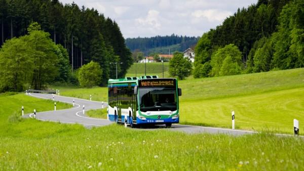 MVV Bus bei Taglaching