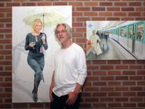 F. Dieter Stein-Ausstellung im Rathaus