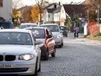 Verkehrssituation im Zentrum von Kirchheim