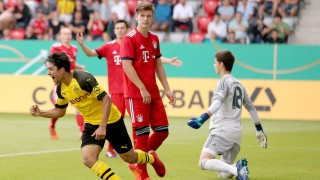 Immanuel Pherai Borussia Dortmund jubel nach dem 1 2 FC Bayern Muenchen vs Borussia Dortmund