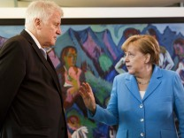 FILE - Chancellor Merkel's Coalition At Risk After Clashes With Her Interior Minister, Horst Seehofer Over Refugee Policy