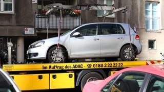ADAC-Auftragnehmer schleppt Auto ab