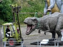 """´T-rex""""-Modell  im Dinosaurierpark Münchehagen"""