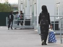 Flüchtlingsunterkunft in Dresden