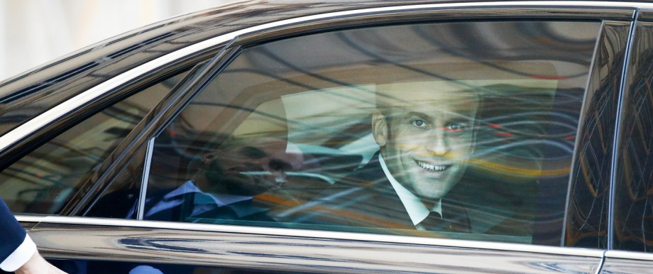 Emmanuel Macron 2018 in Berlin