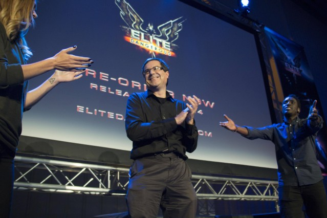 22 11 2014 Duxford United Kingdom Elite Dangerous Launches ONE of the biggest names in gaming