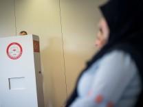 Wahlen Türkei · Stimmabgabe in Stuttgart