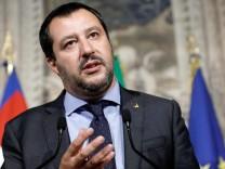 Italienischer Innenminister Salvini