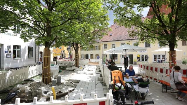Freising Innenstadtumbau in Freising