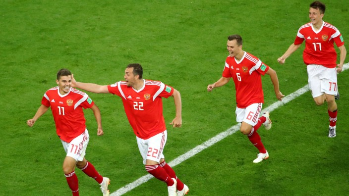World Cup - Group A - Russia vs Egypt
