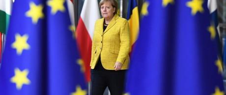 Bundeskanzlerin Merkel auf dem EU-Gipfel 2017 in Brüssel