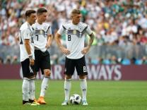 Kroos, Özil und Draxler beim WM-Spiel 2018 gegen Mexiko