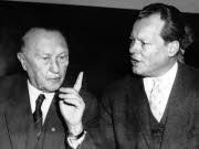 Die Sechziger sehen eine veritable Staatskrise, das Ende der Ära Adenauer und den Aufstieg der SPD zur Regierungspartei.