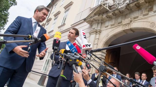 Bayerisches Kabinett tagt mit Österreichs Bundeskabinett
