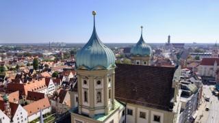 AfD-Parteitag in Augsburg: Die Stadt rüstet sich mit einem großen Polizeiaufgebot.