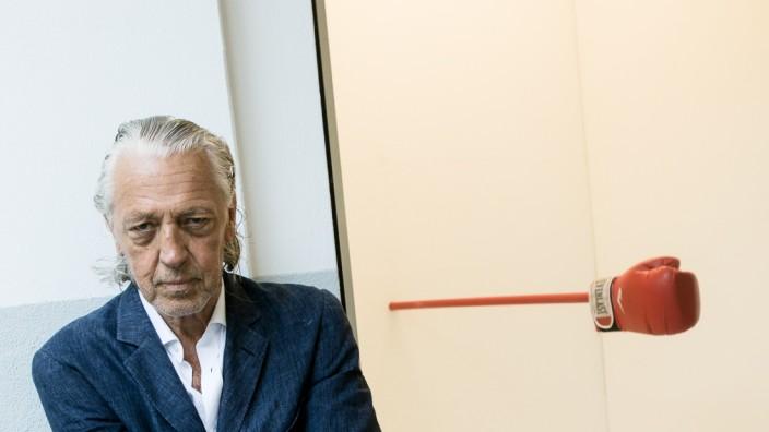 Walter Storms Galerie, Benefiz-Versteigerung   Charles Schumann feat. Faust