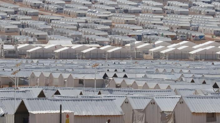 Flüchtlingslager für Syrer in Jordanien