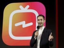 Kevin Systrom, CEO von Instagram