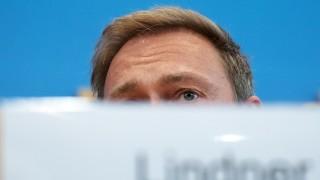 FDP-Chef Christian Lindner 2018 in Berlin