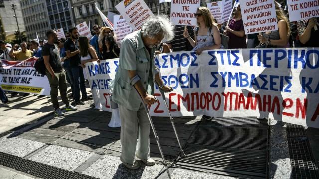 Banken und Finanzindustrie Griechenland