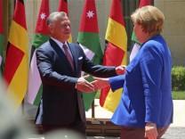 Angela Merkel, Abdullah II2