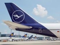 Lufthansa mit neuem Blau