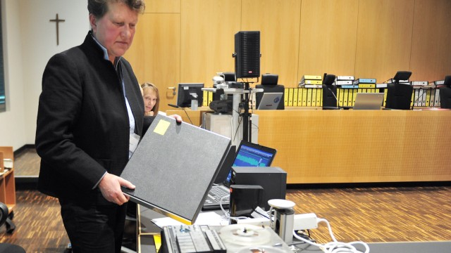 Tonbandgutachten in Herrmann-Prozess
