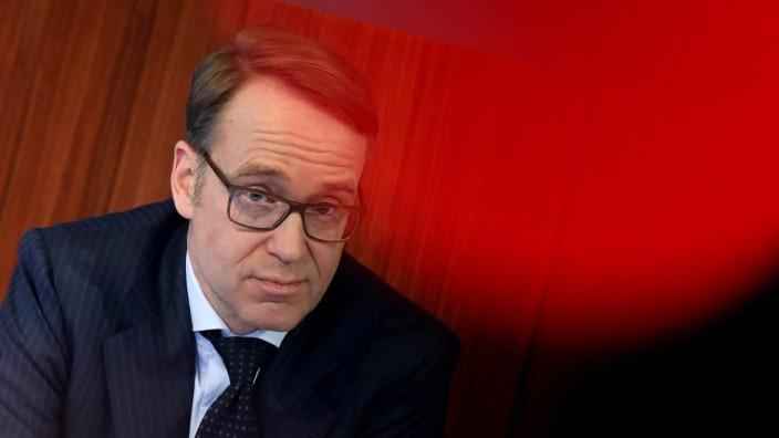 Bilder des Tages 27 02 2018 Frankfurt DEU Jahresabschlusskonferenz Deutsche Bundesbank Jens Weidm
