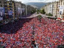 Wahlen Türkei - Wahlkampf AKP