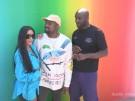 Kanye West und Kim Kardashian bei Louis-Vuitton-Debüt (Vorschaubild)